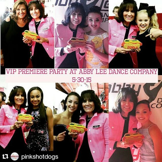Pinkhotdogs at la party credit  ♥Dancemoms luver♥