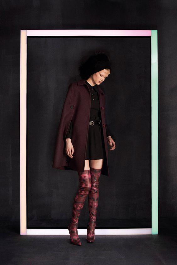 visual optimism; fashion editorials, shows, campaigns & more!: saskia de brauw, kati nescher and marine deleeuw for louis #vuitton pre-fall 2014