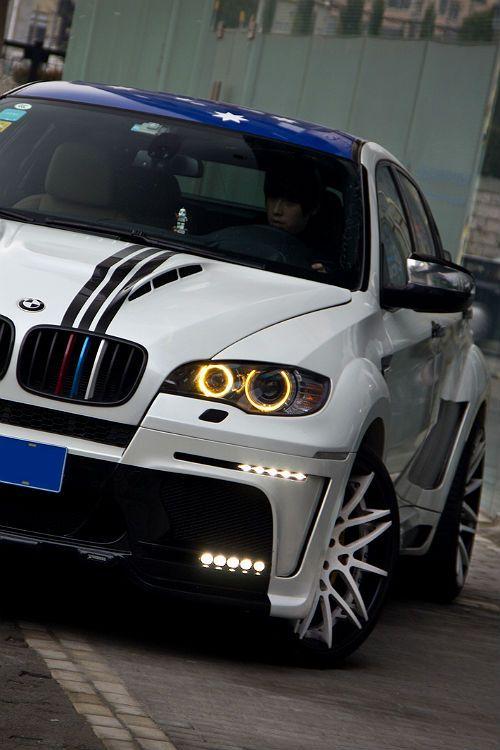 White Spike BMW