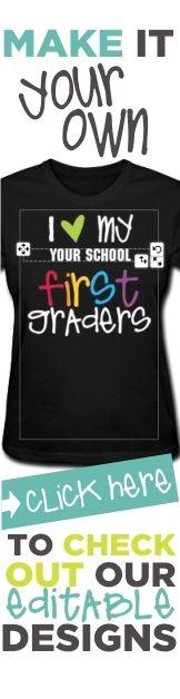 glitter kindergarten rocks (red/light blue/red glitz)   Teacher T-Shirts