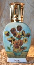 HOSTESS GIFT Sunflowers Van Gogh LAMPE BERGER GOEBEL Oil Diffuser Lamp Burner