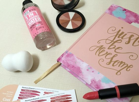 Pink Notebooks, A Coral Lipstick