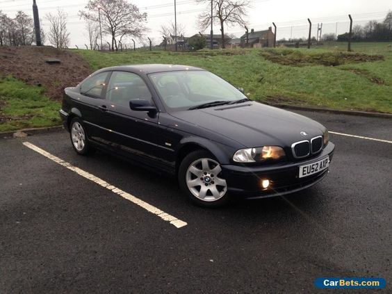 2002 BMW 318CI SE PETROL E46 COUPE BLUE 2 DOOR MANUAL FSH NOT E90 330 325 M3  #bmw #318 #forsale #unitedkingdom