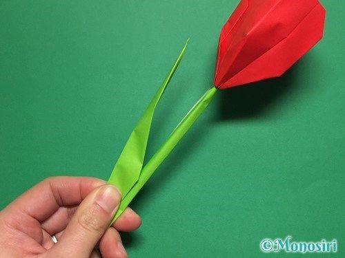 チューリップ 折り紙 立体