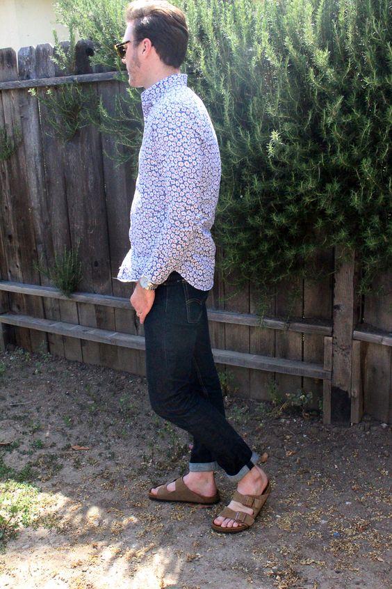shirt-jeans-birkenstock