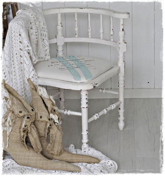 Antiker Stuhl aus Frankreich