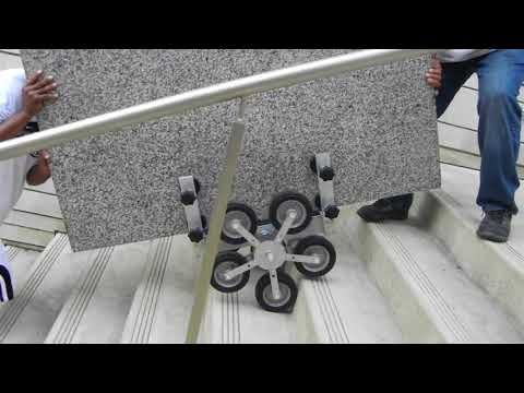 Stone Stair Walker Cart By Mitchell Industrial Dolly Innovations Youtube Stone Stairs Stone Stairs