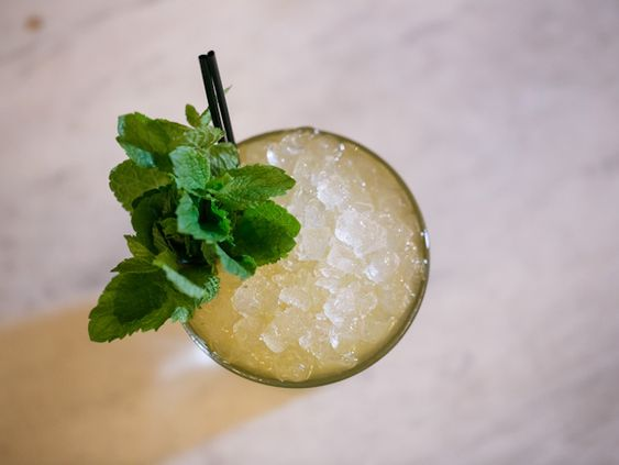 Wally Harbanger from 1534 | Recipe | Bourbon, Cocktails and Mint