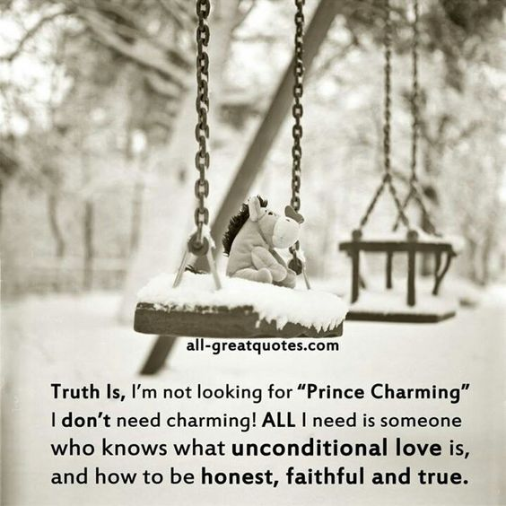 Well prince charming would still be nice