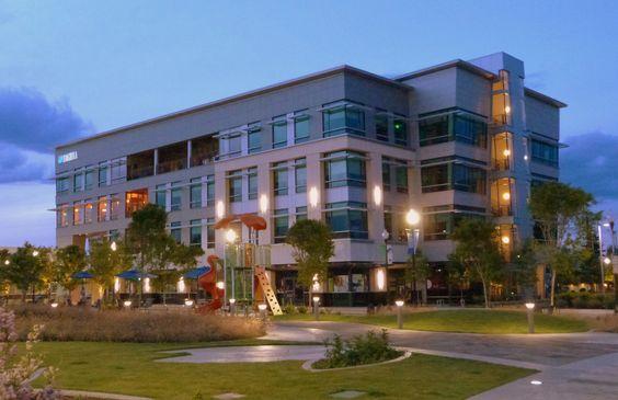Lithia Motors world headquarters in downtown Medford, Oregon