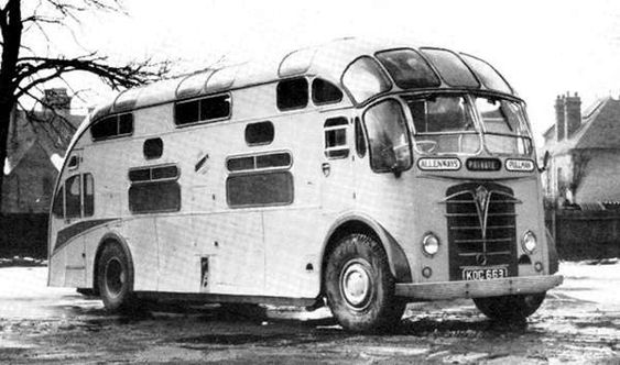 KOC 633 1950 Foden with Crellin Duplex-styled body