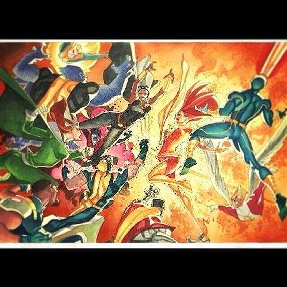 Dark Phoenix vs the X-men