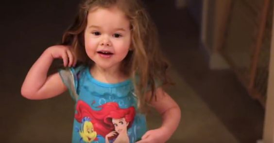 She's Only Three Years Old, But Listen To Her Sing!