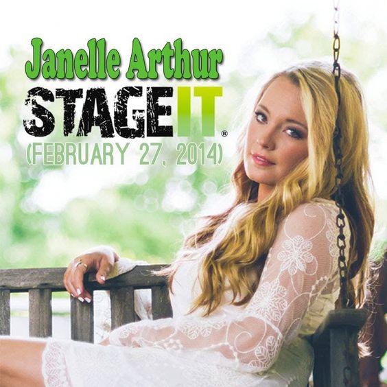 Janelle Arthur Stageit (February 27, 2014)