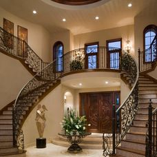 mediterranean entry by Gregory A. Jones Architecture
