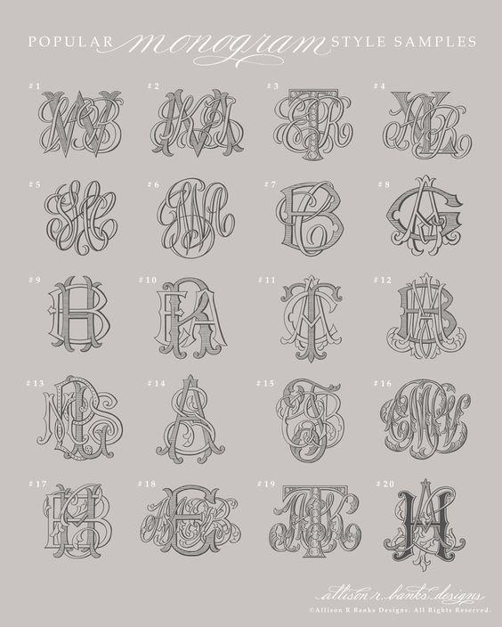 Monograms — Allison R. Banks Designs