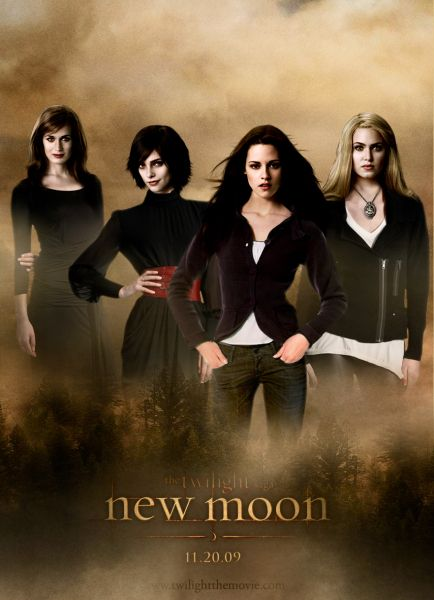 New Moon! The book was better, my least favorite twilight movie, but it was still great:)