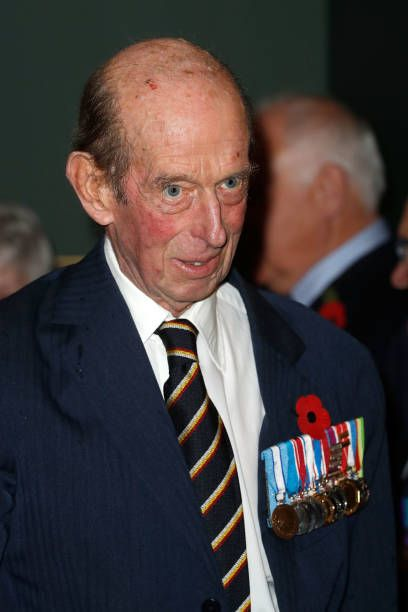 Prince Edward Duke of Kent attends the Royal British Legion Festival of Remembrance at the Royal Albert Hall on November 10 2018 in London England...