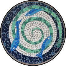 Afbeeldingsresultaat voor mozaiek tafelbladen
