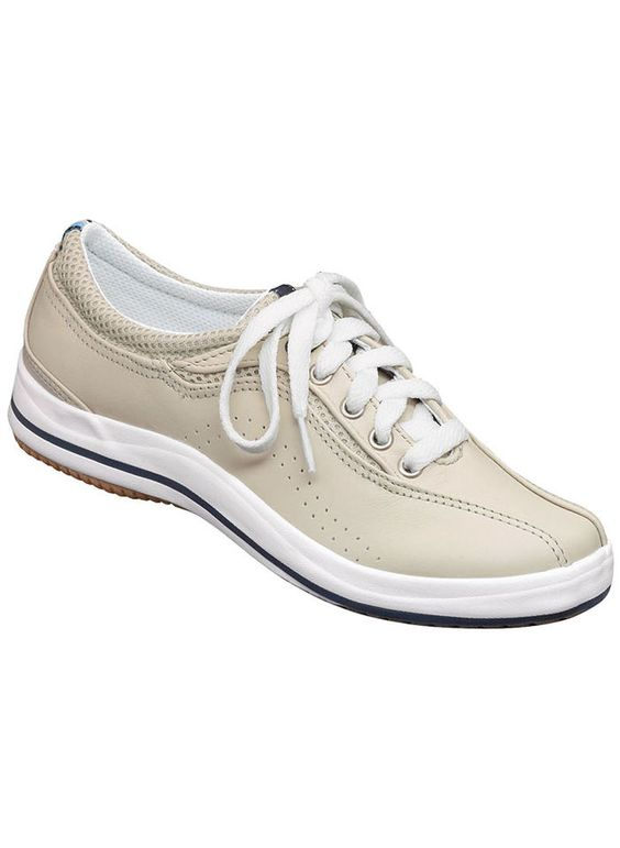 keds spirit leather microstretch sneaker