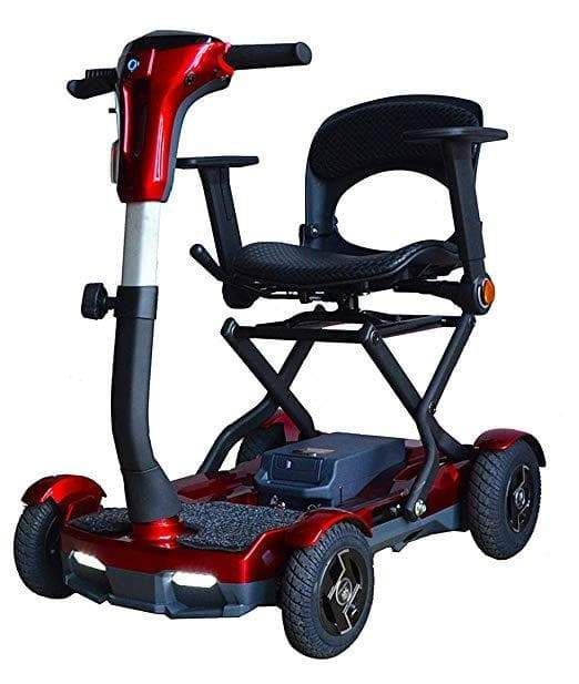 Ev Rider Teqno S26 Auto Folding Portable Lightweight 4 Wheel