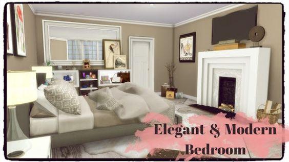 Sims 4 CCu0027s - The Best Urban Chic Bedroom Set by pqSim4 The - esszimmer 6 st amp uuml hlen