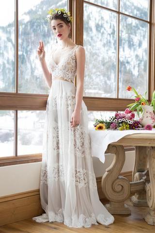Коллекция свадебных платьев Reem Acra, осень-зима 2019-2016 рекомендации