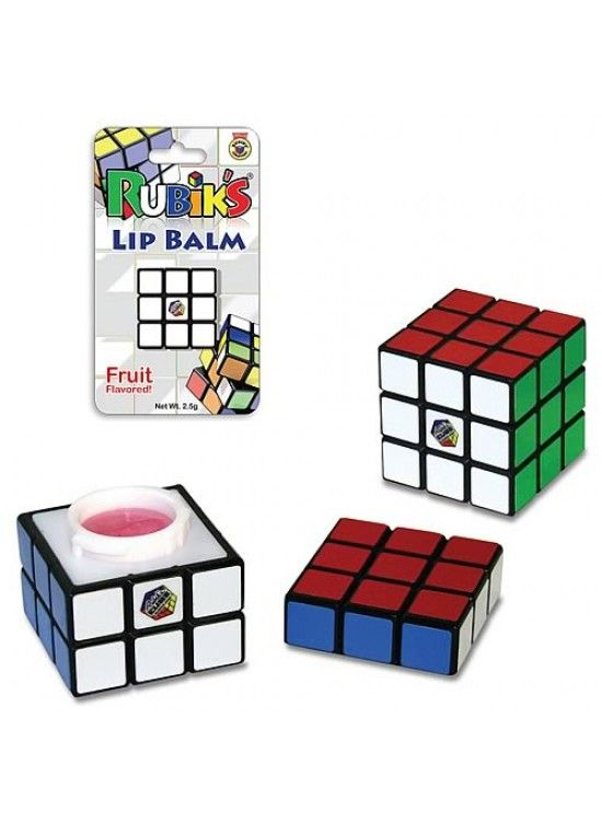 Rubik's Cube Lip Balm  Too much for my heart to handle