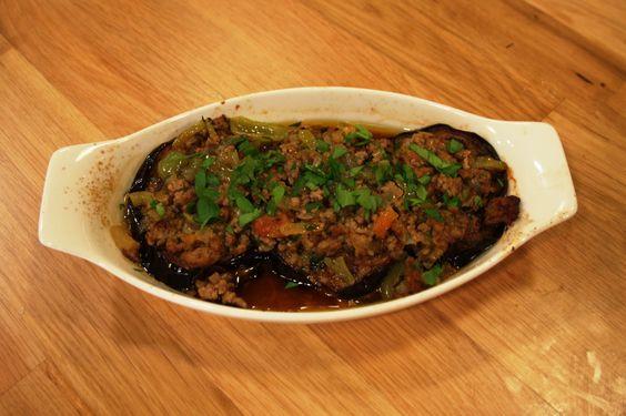 Patlıcan Musakka, Berenjenas con carne molida, Turquía