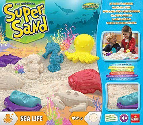 A Saisir Goliath 83293 Super Sand Sea Life Jeu Jouet Gratuit Noel Promotion Jouet Jeu Jouet Jeux