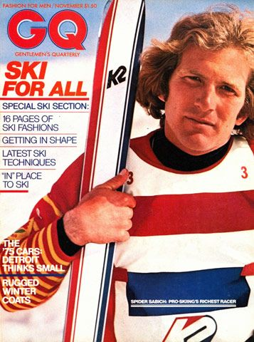 GQ November 1974 cover with Spider Sabich. He was murdered ...