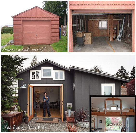 I Need To Find An Apartment: A Garage Converted Into A Cute Apartment Home.