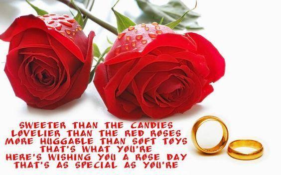 Red Rose Image With Shayari Download