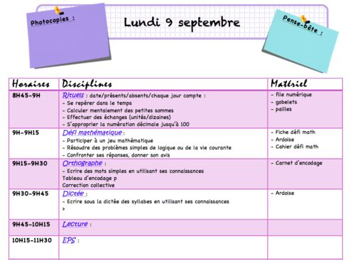 Häufig Nouveau cahier journal | Idées pour la classe | Pinterest | Classe  ZY51