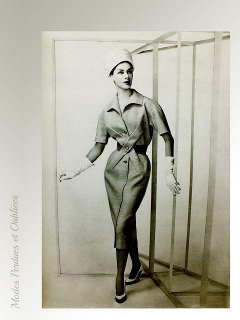 A la Recherche des Modes Perdues et Oubliées: Femme Chic - 1er trimestre 1957