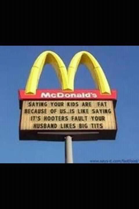 too much fast food can make you fat though