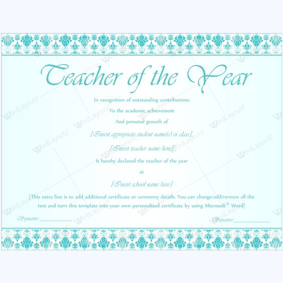Certificate of best teacher award award certificate teacheraward certificate of best teacher award award certificate teacheraward bestawardcertificate best teacher award certificate templates pinterest yelopaper Images