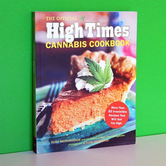 Das High Times Cannabis-Kochbuch mit jeder Menge leckerer Gerichte auf Hanf-Basis: von Barbecue Saucen bis zu köstlichen Cocktails. Peace!