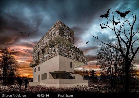 Shuroq Al-Jakheem مهارات اتصال معماري الامتحان النهائي-2018- architectural communication skills