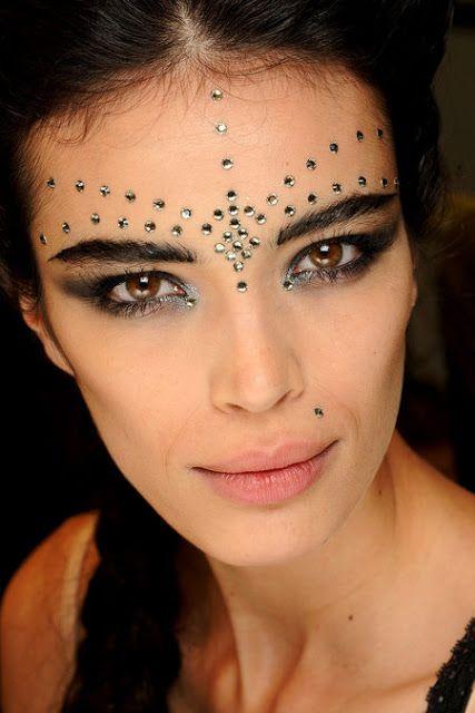 Inspiração para o Carnaval - Maquiagem - Makeup - JPG Couture 2013: