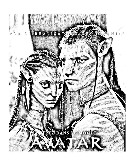 Avatar 2 Poster: To Print This Free Coloring Page «coloring-movie-avatar