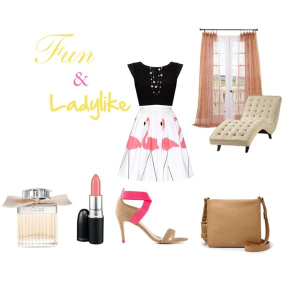 """""""Fun & Ladylike outfit"""" by lydia-brewster on Polyvore"""