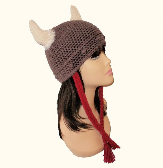 Crochet Pattern Viking Hat : viking hat pattern Crochet Viking Dwarf,Roman Warrior ...