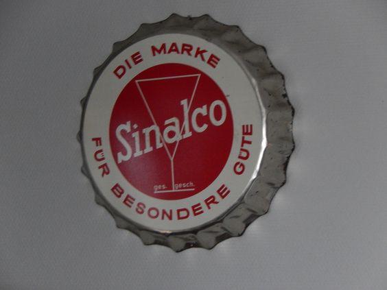 Sinalco Klasiker Schnäppchen vom Flohmarkt, Schnückt jetzt unsere Küche