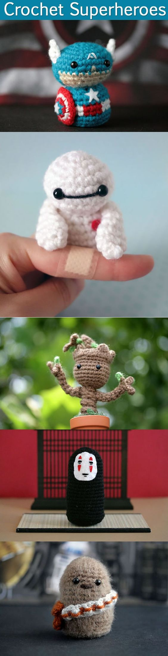 Anamaria Androne, the founder & craft artist at the online shop & blogMerique Crochet. Using her talented crochet skills plus wild imagination, she made a series of cute Game of Throne characters, and two amazing legends:David Jones and Alan Rickman. … Continued: