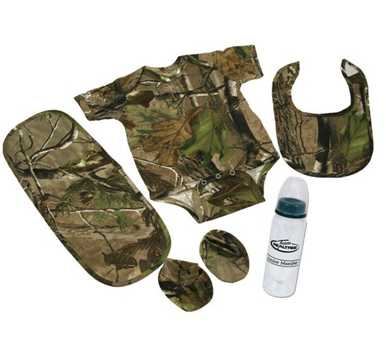 Camouflage Kitchen Accessories | Piece Realtree APG Hunting Camouflage Baby Boy Gift Set | eBay