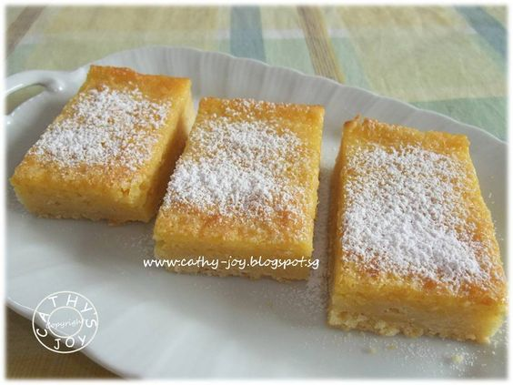 Passionfruit Bars | Brownies & Bars | Pinterest | Bar and Html