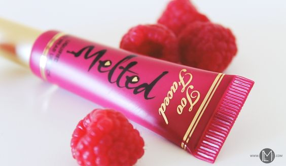 Too Faced| Melted Berry Liquified Long Wear Lipstick | LiliMakes Blog