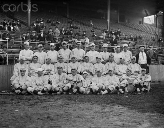 Portrait of 1916 Boston Red Sox Team