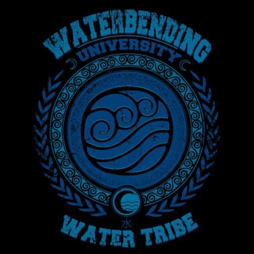 Waterbending University T-Shirt $12 Avatar: The Last Airbender tee at Once Upon a Tee!